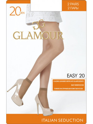 Носки GLAMOUR EASY 20 скидка