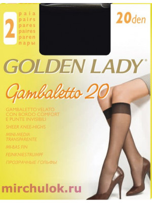 Гольфы GOLDEN LADY gambaletto 20