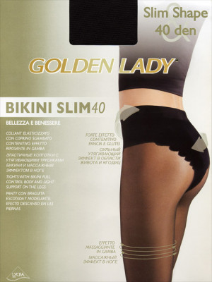 Колготки GOLDEN LADY BIKINI SLIM 40