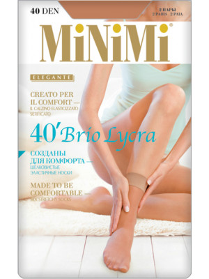 Носки MINIMI BRIO 40 Lycra