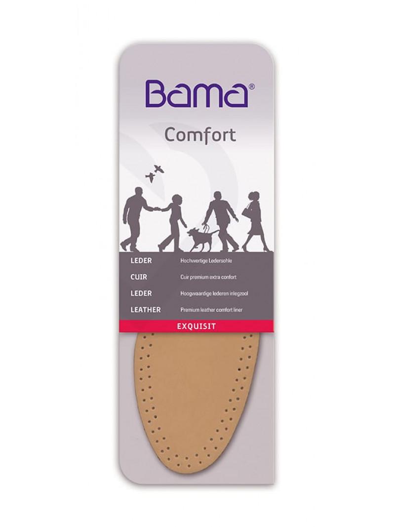 Кожаные стельки для комфорта EXQUISIT Bama