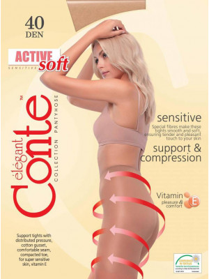 Колготки CONTE ACTIVE SOFT 40 XL