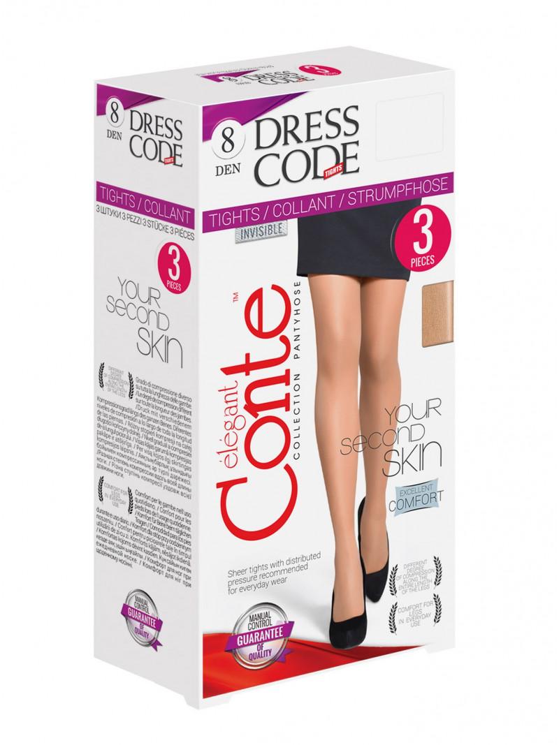 Колготки CONTE DRESS CODE 8 (3 штуки)