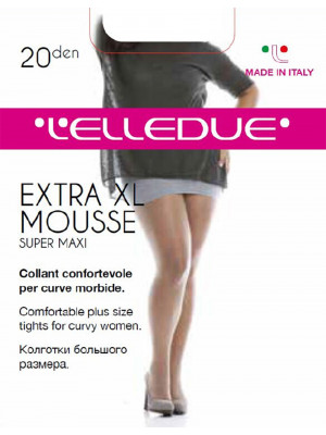 Колготки L'ELLEDUE EXTRA MOUSSE 20 SUPER MAXI (упаковка 12 шт)