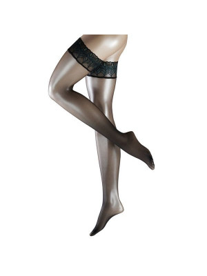 Чулки FALKE Lunelle 8 stay-up black-blu