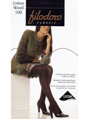 Колготки FILODORO CLASSIC Cotton Wool 100 XL