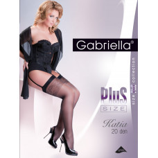 Чулки Gabriella Katia Plus 20