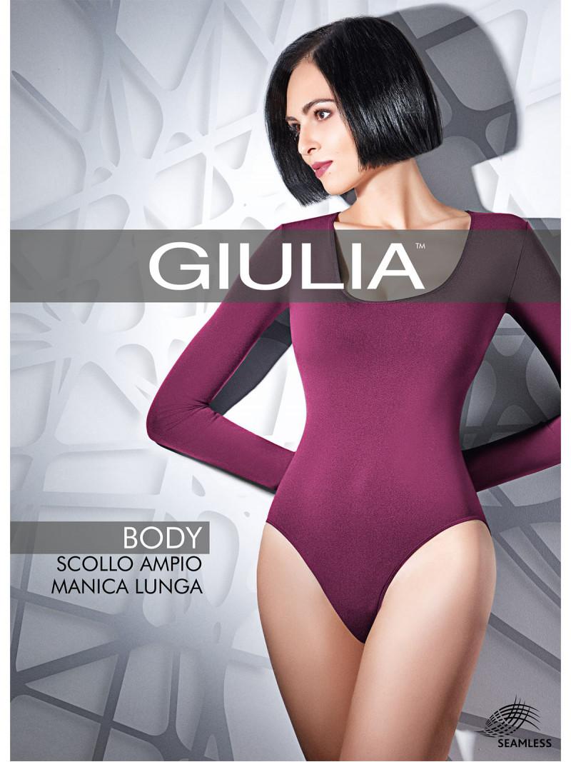 Боди Giulia BODY BODY SCOLLO AMPIO MANICA LUNGA