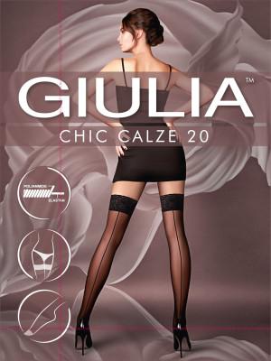 Чулки Giulia CHIC 20 скидка