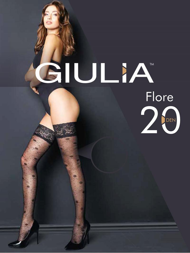 Чулки Giulia FLORE 01