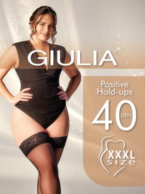 Чулки Giulia POSITIVE 40 (упаковка 5 шт)
