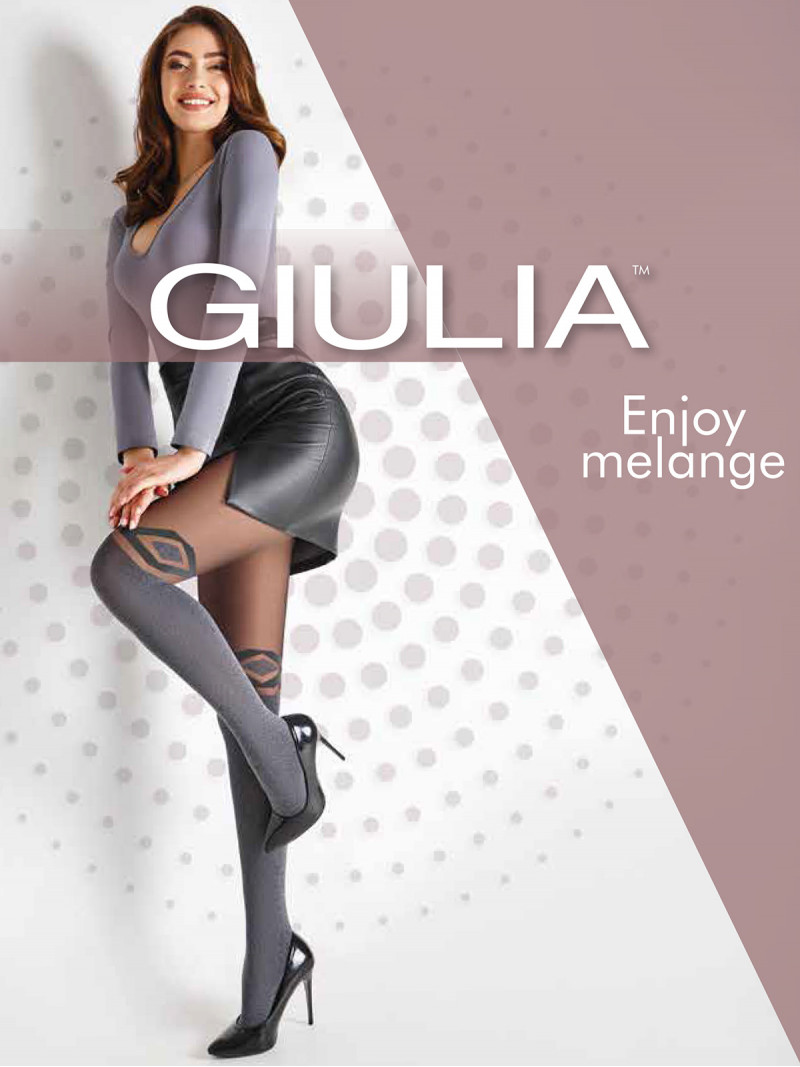 Колготки Giulia ENJOY MELANGE 03