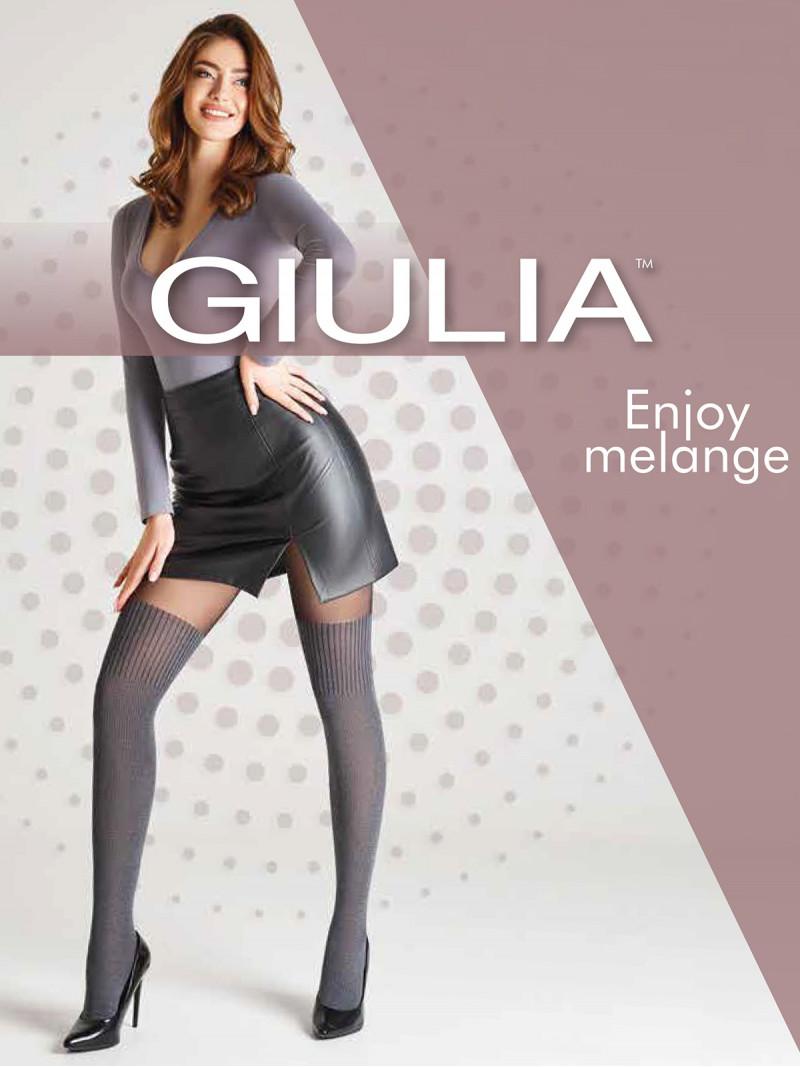 Колготки Giulia ENJOY MELANGE 04