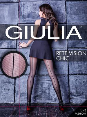 Колготки Giulia RETE VISION CHIC