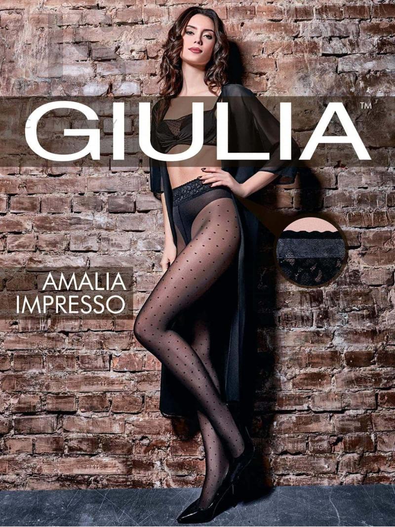Колготки Giulia AMALIA IMPRESSO 01