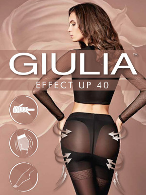 Колготки Giulia EFFECT UP 40
