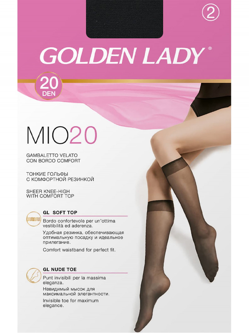 Гольфы женские GOLDEN LADY MIO 20