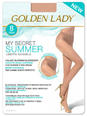 Колготки GOLDEN LADY MY SECRET Summer 8