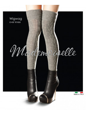 Ботфорты MADEMOISELLE Wig wag over-knee