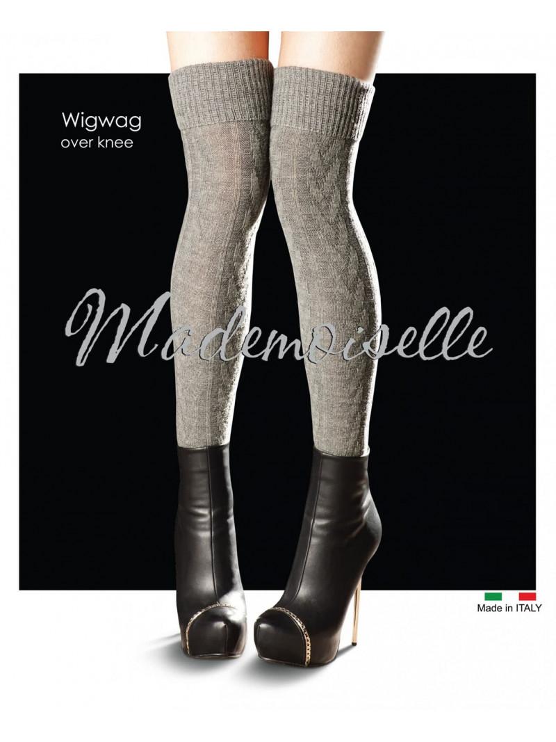Ботфорты MADEMOISELLE Wig wag over-knee