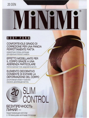 Колготки MINIMI SLIM CONTROL 20