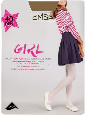 Колготки детские OMSA GIRL 40