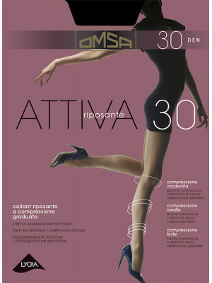 Колготки OMSA Attiva 30