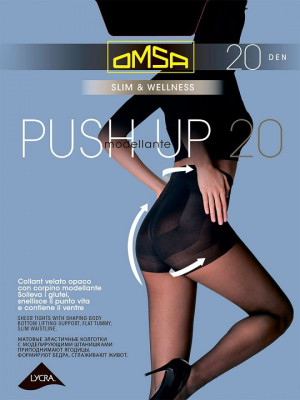 Колготки OMSA PUSH UP 20 (упаковка 5 шт)