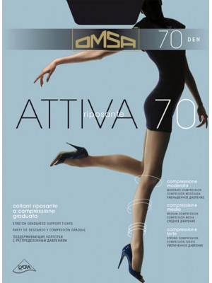 Колготки OMSA Attiva 70 XXL