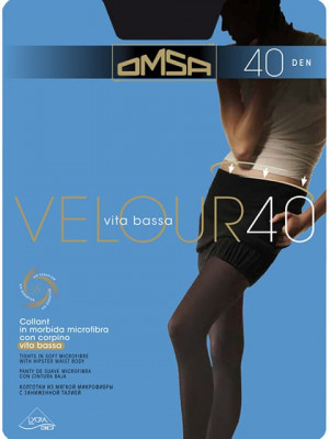 Колготки OMSA Velour 40 vitabassa скидка