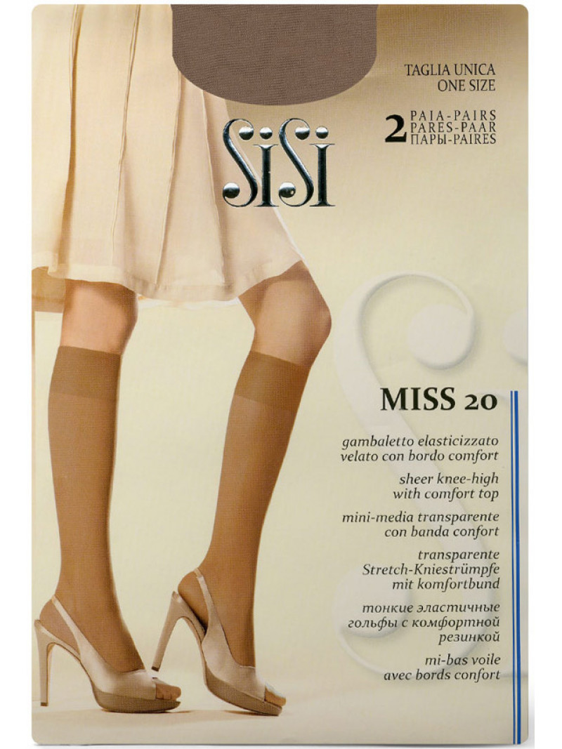 Гольфы SISI Miss 20 gambaletto
