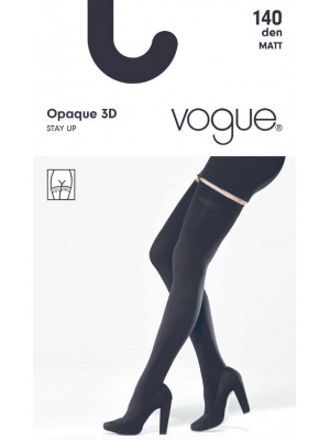 Чулки VOGUE OPAQUE 140 STAY UP 3D